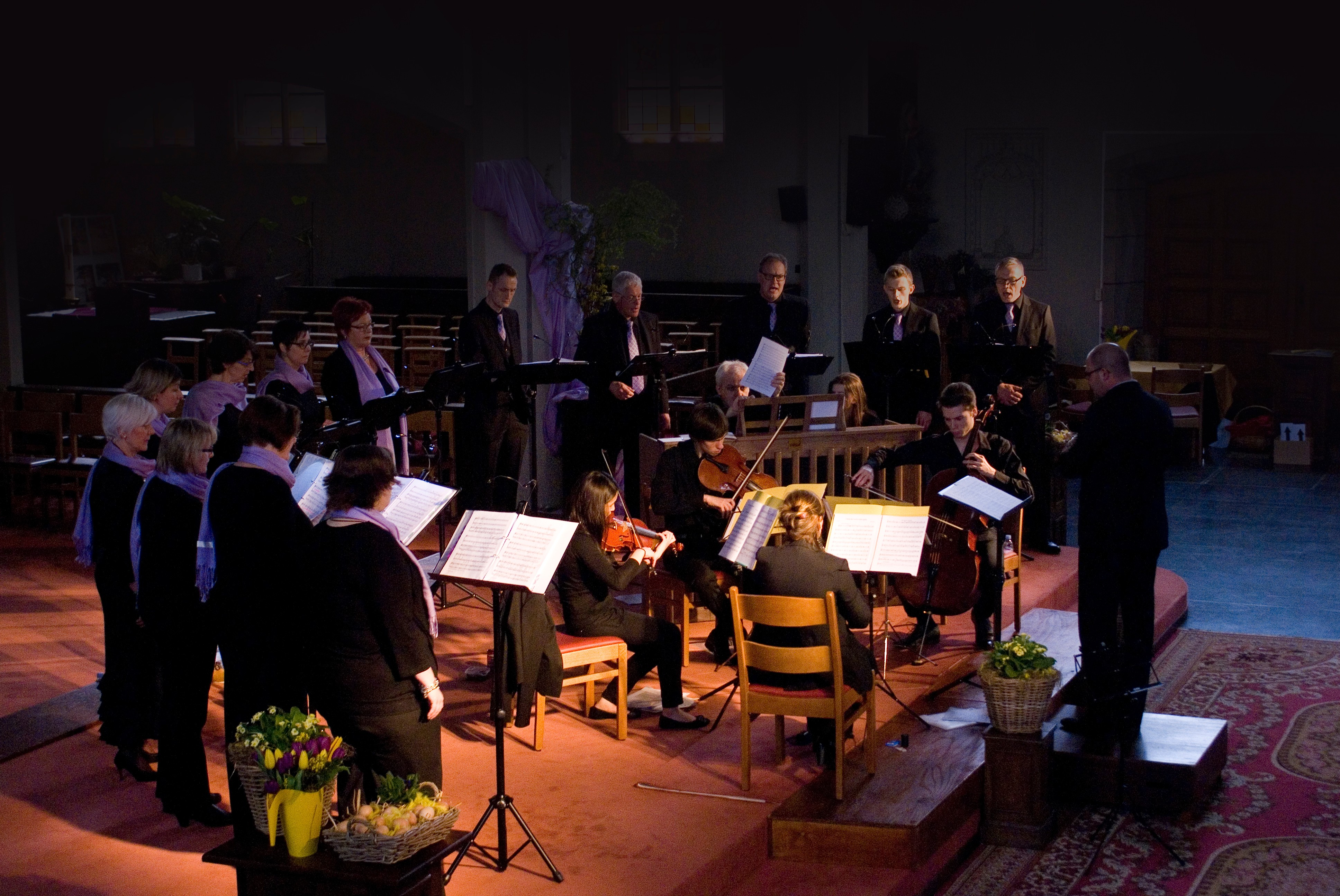 Vocarde zingt vol Passie tot Pasen - 6 april 2014